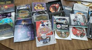 Large Lot of Vintage PC Game Software Win 95/98