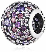 Authentic PANDORA Multi Colored Pave Lights Bead #791261ACZMX Charm