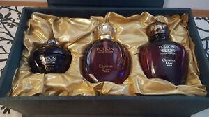 Vintage 1993 Christian Dior Poison - Rare Collector's Set 3.4 Cologne Talc Creme