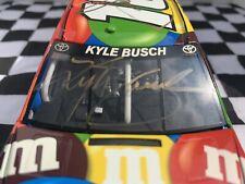 2014 Kyle Busch 1/24 Autographed By Kyle,Joe Gibbs,David Rogers Pretzel