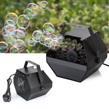 Electric Bubble Blower Machine Maker DJ Club Children Kids Party Wedding Fun
