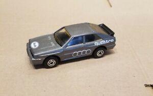 Matchbox Audi Quattro, 1:58 scale in excellent condition