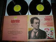 M-/NM 2LP MAHLER Symphony 3  KUBELIK DGG Bavarian Radio Symph Orchestra  VINYL