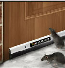 """Xcluder 48"""" Standard Door Sweep Aluminum 2-Pack – Seals Out Rodents & Pests E..."""