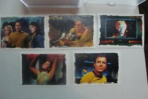 🎈Star Trek Arts & Images SET Complete (81 Card Rittenhouse 2005 lot TOS trading
