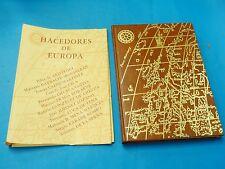 RARE BOOK: Hacedores de Europa / Pilar de Aristegui  / Madrid