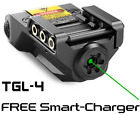 TACTICAL GREEN LASER SIGHT RECHARGEABLE BATTERY LOW PROFILE TARGON TGL-4