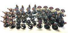 D&D Pre-painted plastic miniatures Underdark Races lot: 43 miniatures + cards