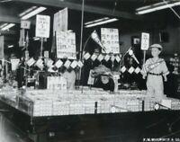 "1952 Topps Baseball Card Display at Woolworth 8"" x 10"" Black & White Photo"
