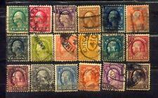 USA Nice Old Stamps Lot  1c to $1