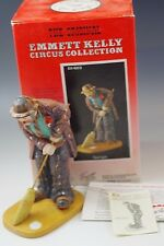 Emmett Kelly Spotlight Clown Circus Collection Ceramic Figurine Ltd 7909/15000