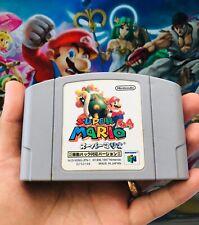Shindou Super Mario 64 Rumble Pak Version Nintendo N64 Japanese Import