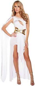 Egyptian Queen/Cleopatra Harem Roman Toga Outfit - Dress Belt Headband Size 8-10