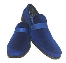 Zapatos de vestir para Hombres esmoquin azul real Mocasines Formal Boda Baile de graduación novio 11M