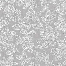 Calico grau Blatt Tapete Crown Wanddekoration strukturiertes Vinyl M1119