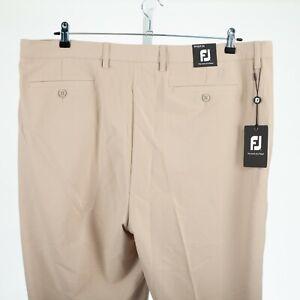 FootJoy FJ Men's 42 x 34 Beige Khaki Perf Golf Pants NWT