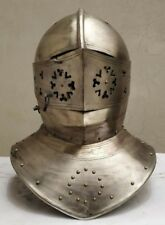 Antique MEDIEVAL ARMOUR CLOSED HELMET SCA LARP MEDIEVAL GIFT
