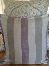 Cushion Cover Made In Art Of The Loom Lytham Stripe Plum