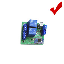 2 Way Channel Relay Module Bluetooth 4.0 BLE Switch For Apple Android Phone IOT