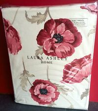 "Laura Ashley Curtains Freshford Cranberry 64"" X 72 / 162cm x 183 Red Poppy"