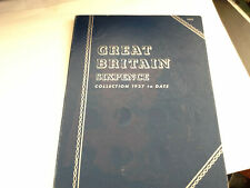 More details for great britain sixpence collection 1937 to date complete
