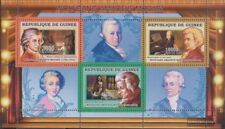 Guinée 4275-4277 Feuille miniature (complète edition) neuf avec gomme originale