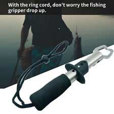 Stainless Steel Fishing Grip Fish Gripper Lip Grabber Keeper Tackle Control Y2