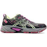 Asics Gel-Venture 5 Grey Green Pink Running Sneakers Shoes T5N8N Womens Size 7.5
