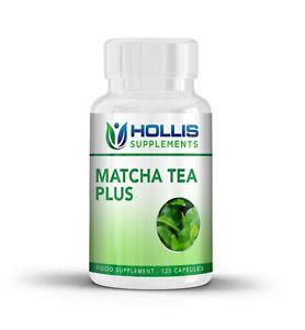 Matcha Green Tea Plus 120 Extra Strength Vegetarian Detox Weight Loss Capsules