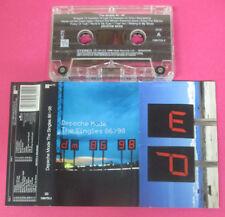 MC DEPECHE MODE The singles 86>98 1998 italy MUTE CMUTEL5 no cd lp vhs dvd