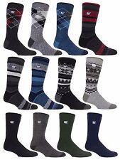 Heat Holders Lite - Mens Thin Winter Warm Crew Colourful Dress Thermal Socks