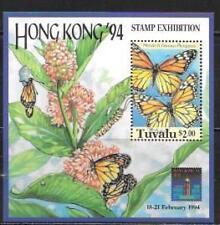 TUVALU 1994 HONG KONG 94' S/S SC # 657 MNH