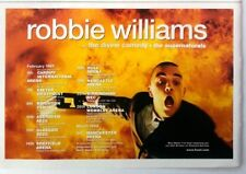 ROBBIE WILLIAMS 1999 Tour magazine ADVERT / Poster 8x6 inches