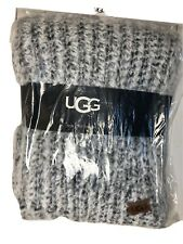 "UGG Home Collection Seacliff Faux Fur Throw in Charcoal Grey 50"" x 70"" $100"