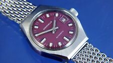 Vintage Retro Caravelle Ladies Automatic Watch NOS Circa 1970s New Old Stock