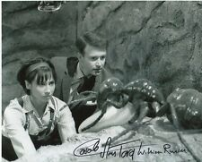 Carol Ann Ford & William Russell Photo Signed In Person - Doctor Who - B341