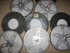 5 Stück Filmspulen Simplex aus Metall in 5 Filmkdosen für je 300 Meter-Reels