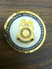 Diplomatic Security coin two sided Challenge coin