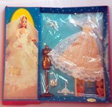 Vintage 1970 Dawn Doll Bridal Fashion Clothes in Original Packaging