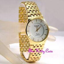 Relojes de pulsera de oro resistente al agua para hombre