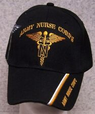 Embroidered Baseball Cap Military Army Nurse Corps NEW 1 hat size fits all