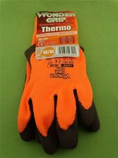 Wonder Grip Thermo Winter Handschuh Strickhandschuh m. Latex Gr. 10