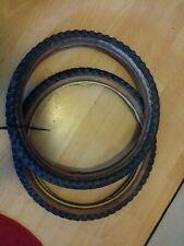 Old School Bmx-BMX Comp3 style Tyres. 20x2.125 both