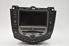 2003-2007 HONDA ACCORD SEDAN GPS NAVIGATION RADIO XM CD PLAYER 39051-8DA-L510-M1
