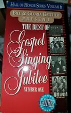 Bill & Gloria Gaither Present -The Best of Gospel Singing Jubilee Number One VHS