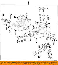 GM OEM Front Seat-Seat Cushion Frame Left 12388923