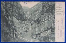 IMPIANTO IDROELETTRICO DEL CELLINA Canale Interno Val Fredda viag 1905 f/p#19719