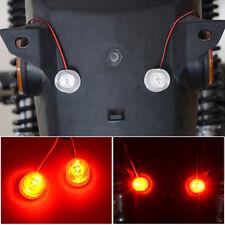 2x 12-85V Car Flashing Emergency Warning LED Strobe Lights Flasher Red+Blue