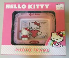 Sanrio Hello Kitty Good Luck Photo Frame Pink 3-D New in Box Heart Balloon