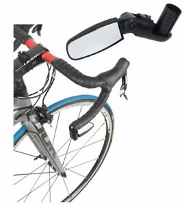 Zefal Spin Bar End Mirror in Unbreakable Chrome Plastic - 280 x 94 x 115mm